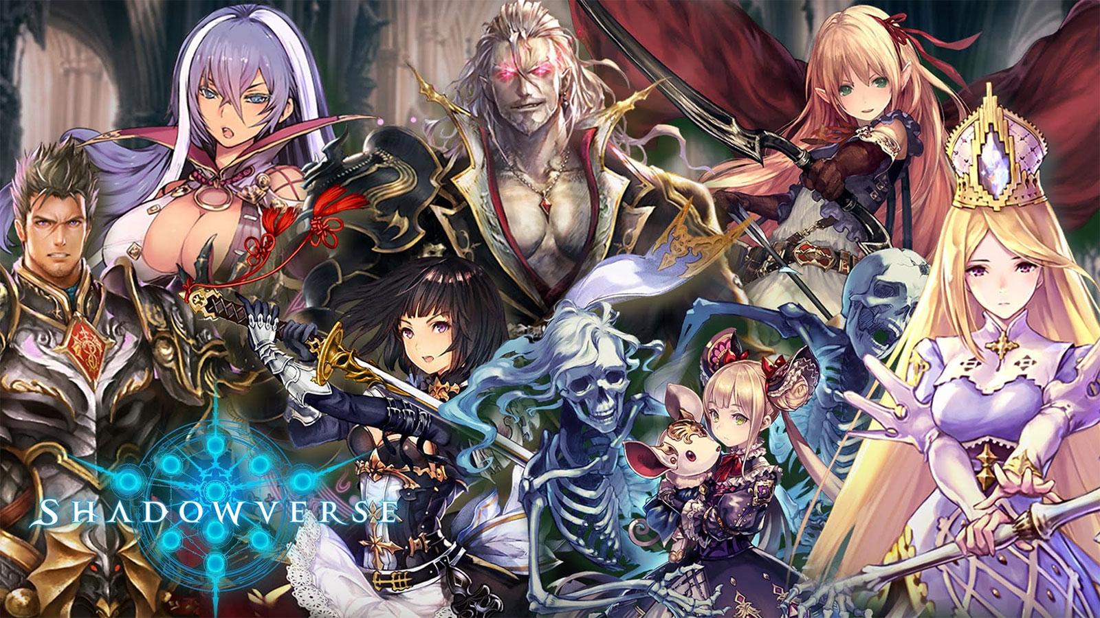 Shadowverse compte 8 classes ayant chacune un meneur et des spécialités