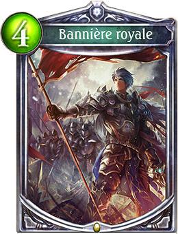 Bannière royale carte Shadowverse