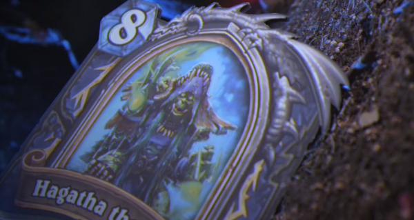 hagatha la sorciere du bois : unique carte heros du bois maudit