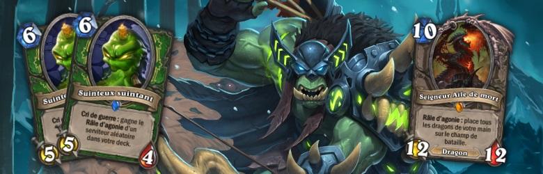 Le deck du mois est le Chasseur Dragon de ZachDauteuil et MightyIV