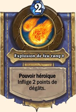 Explosion de feu rang 2