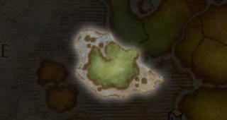 Gilnéas sur la carte des Royaumes de l