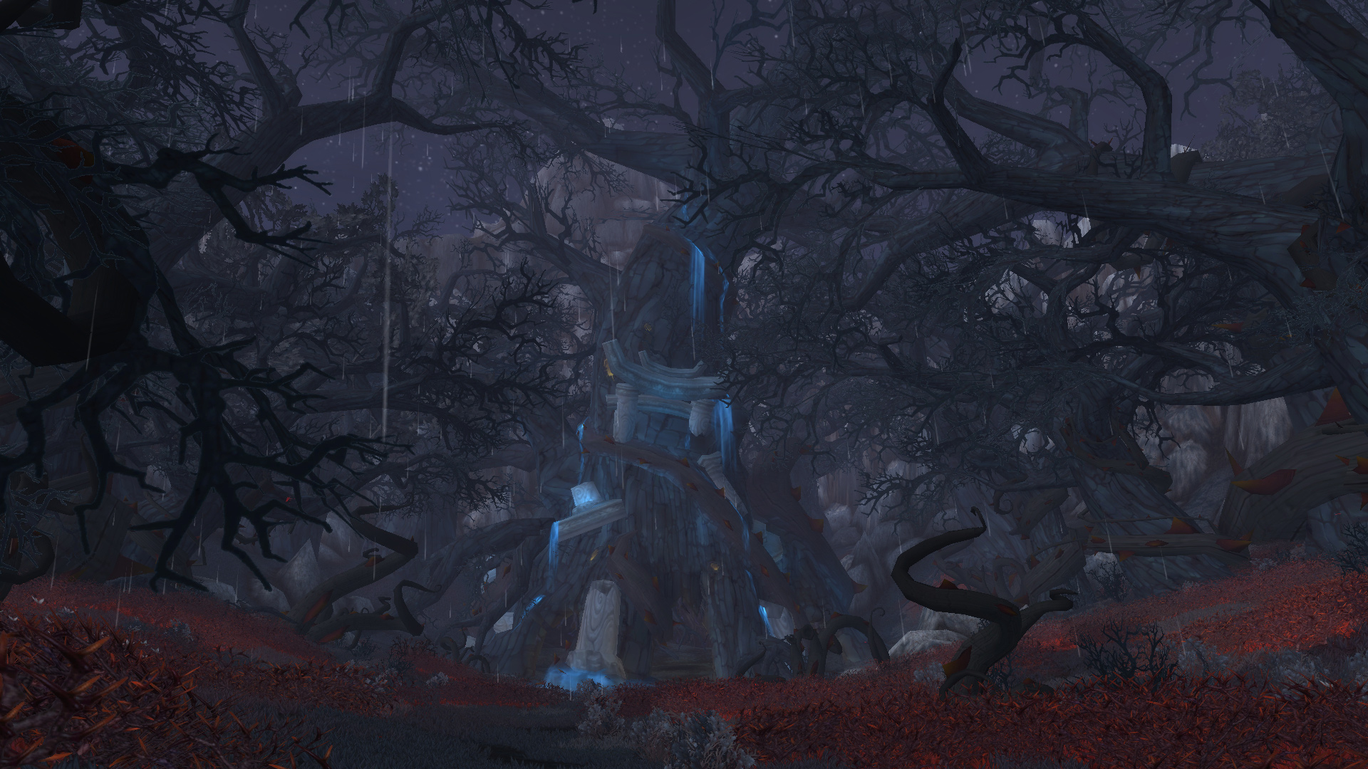 L'arbre Tal'doren dans World of Warcraft