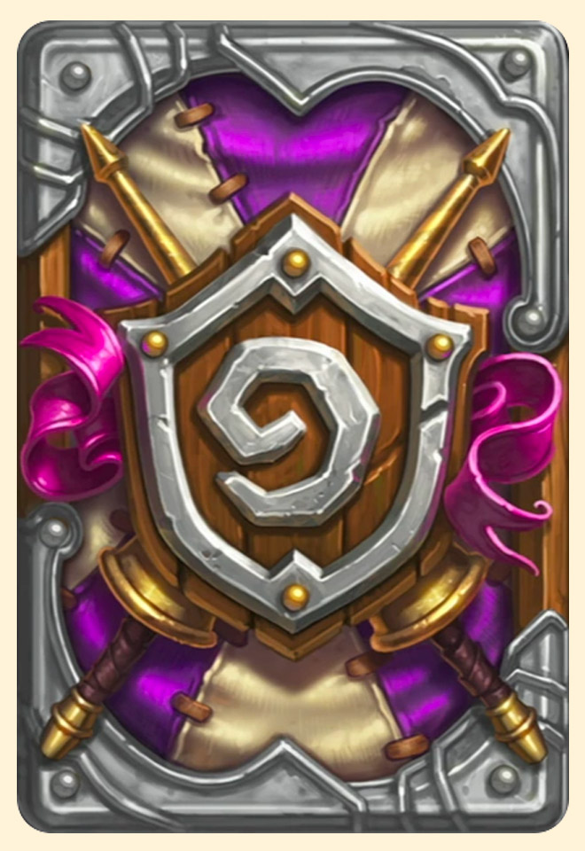 Dos de carte Hearthstone - Grand Tournoi