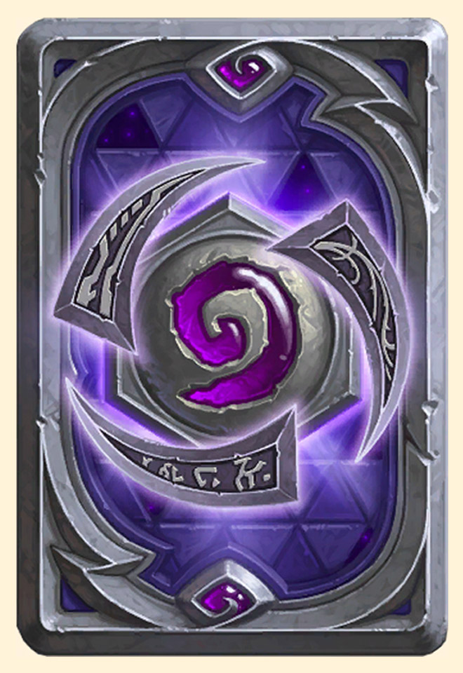 Dos de carte Hearthstone - Heroes of the Storm