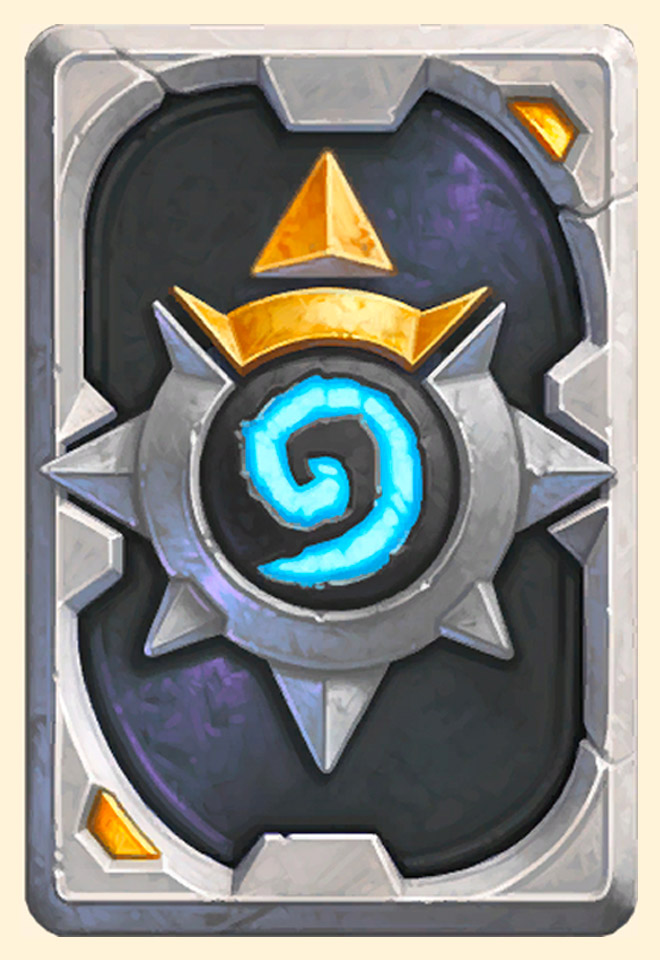 Dos de carte Hearthstone - Overwatch