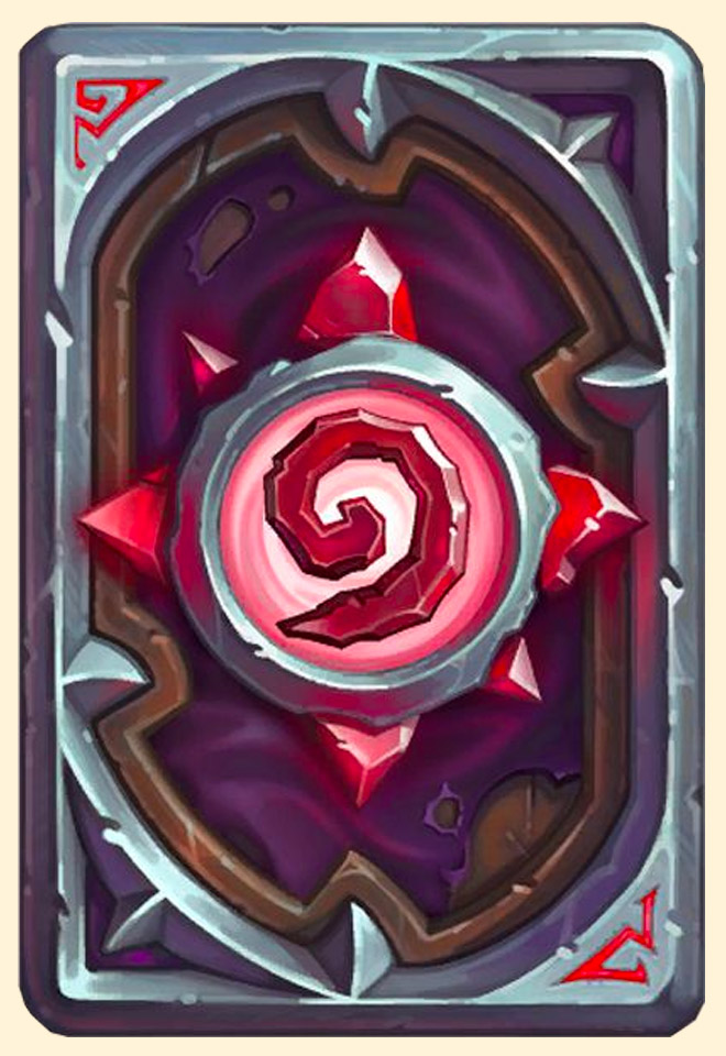 Dos de carte Hearthstone - Kabale
