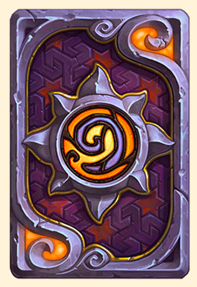Dos de carte Hearthstone - Magie de Dalaran