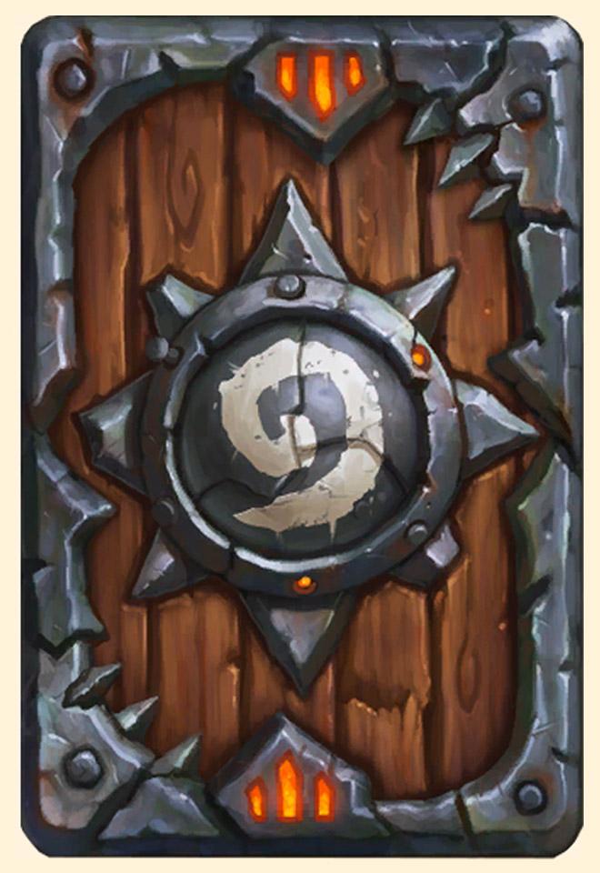 Dos de carte Hearthstone - Warlords of Draenor Collector