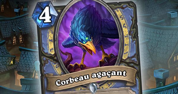bois maudit : corbeau agace