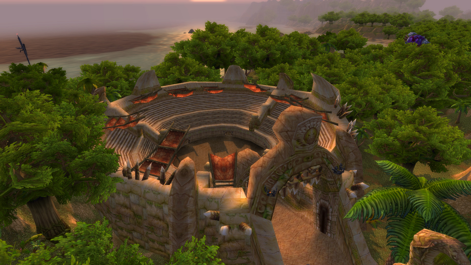 L'arène Gurubashi dans World of Warcraft
