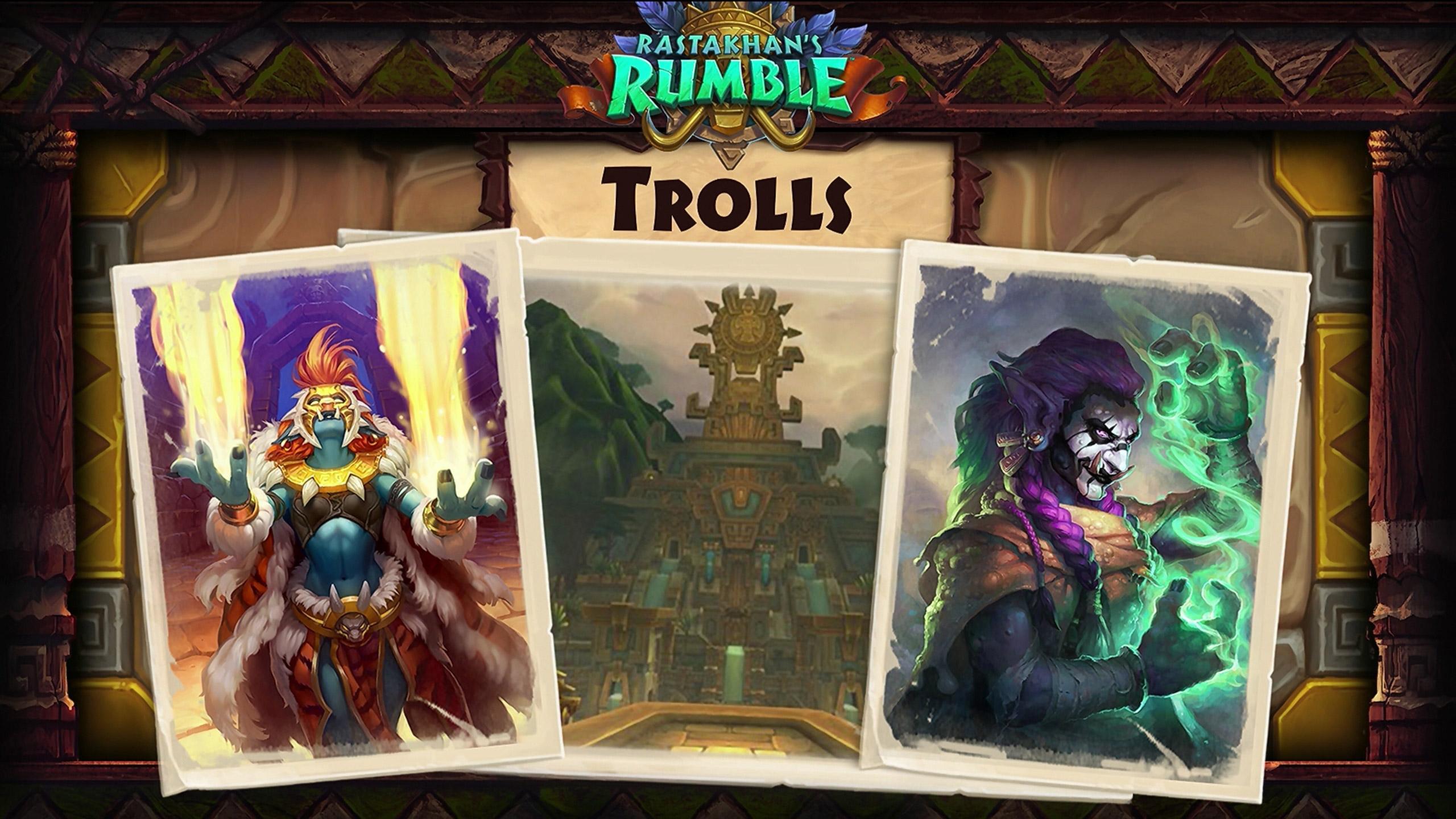 La sortie de Battle for Azeroth était l'opportunité idéale pour une extension sur les Trolls