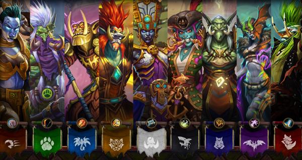 jeux de rastakhan : cartes loas, champions trolls et esprits