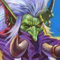 Carte Chasseur Loa Champion troll Esprit Hearthstone