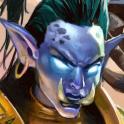 Carte Druide Loa Champion troll Esprit Hearthstone