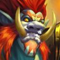 Carte Paladin Loa Champion troll Esprit Hearthstone