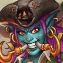 Carte Voleur Loa Champion troll Esprit Hearthstone