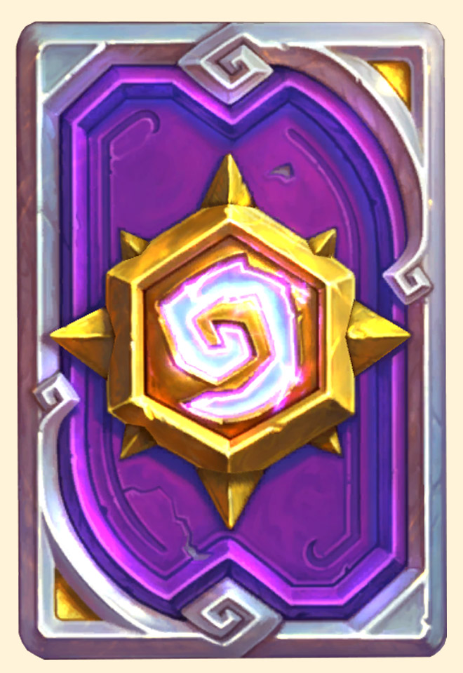 Dos de carte Hearthstone - Cheermote