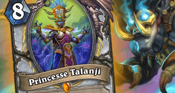 princesse talanji : la championne legendaire pour pretre