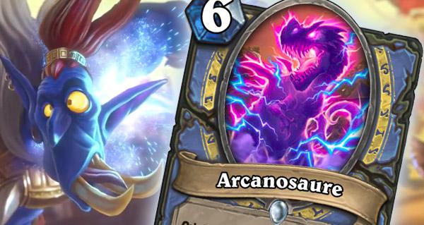 rastakhan : arcanosaure, nouveau serviteur mage