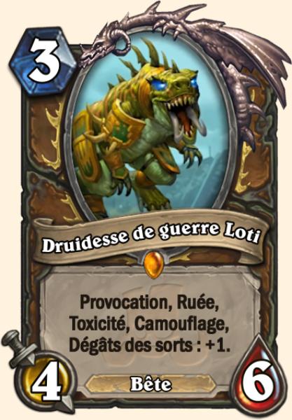 Champion troll Loti et Frandral Fortarmure