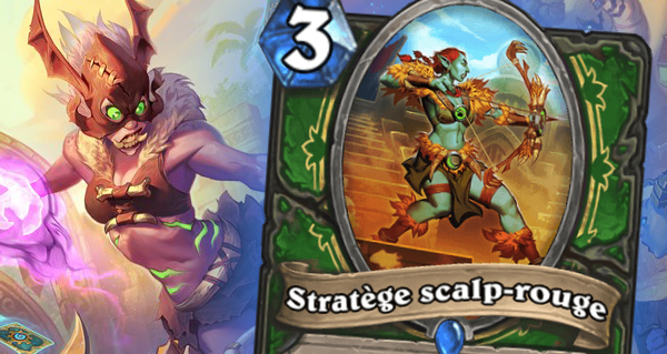 rastakhan : serviteur chasseur stratege scalp-rouge