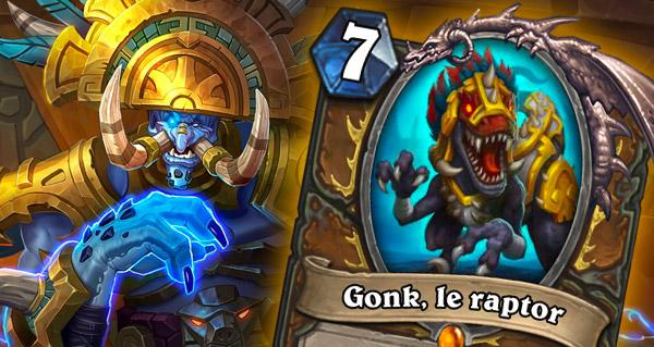 gonk, le raptor : le loa legendaire du druide revele