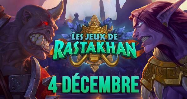 date de sortie jeux de rastakhan : mardi 4 decembre
