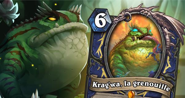 krag'wa, la grenouille : l'esprit loa legendaire du chaman