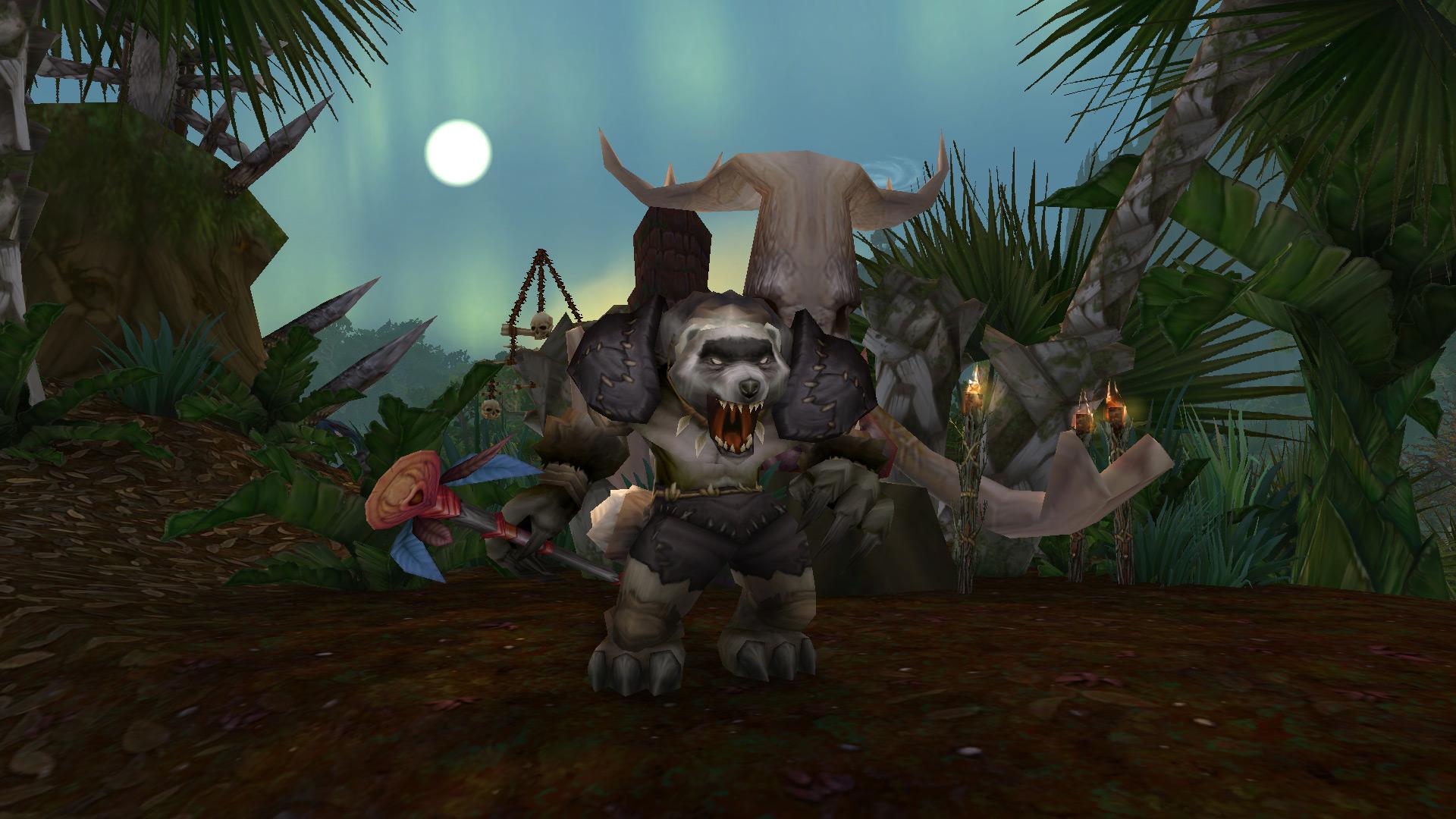 Haut-chaman Rakjak, dirigeant de la Tribu Frénécœur