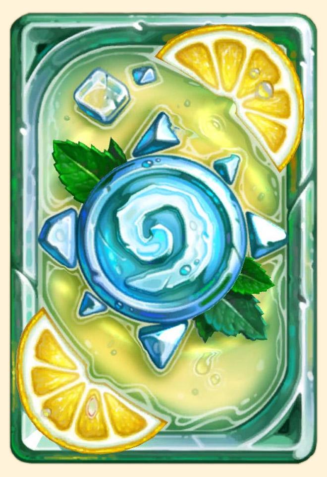 Dos de carte Hearthstone - Citronnade
