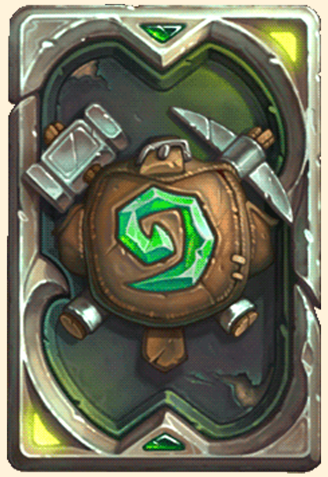 Dos de carte Hearthstone - Ligue des explorateurs