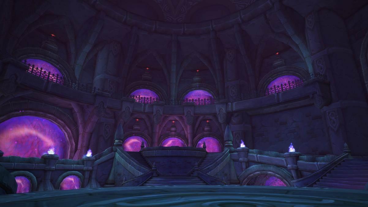 Le fort pourpre est la prison des plus dangeureuses créatures de Norfendre