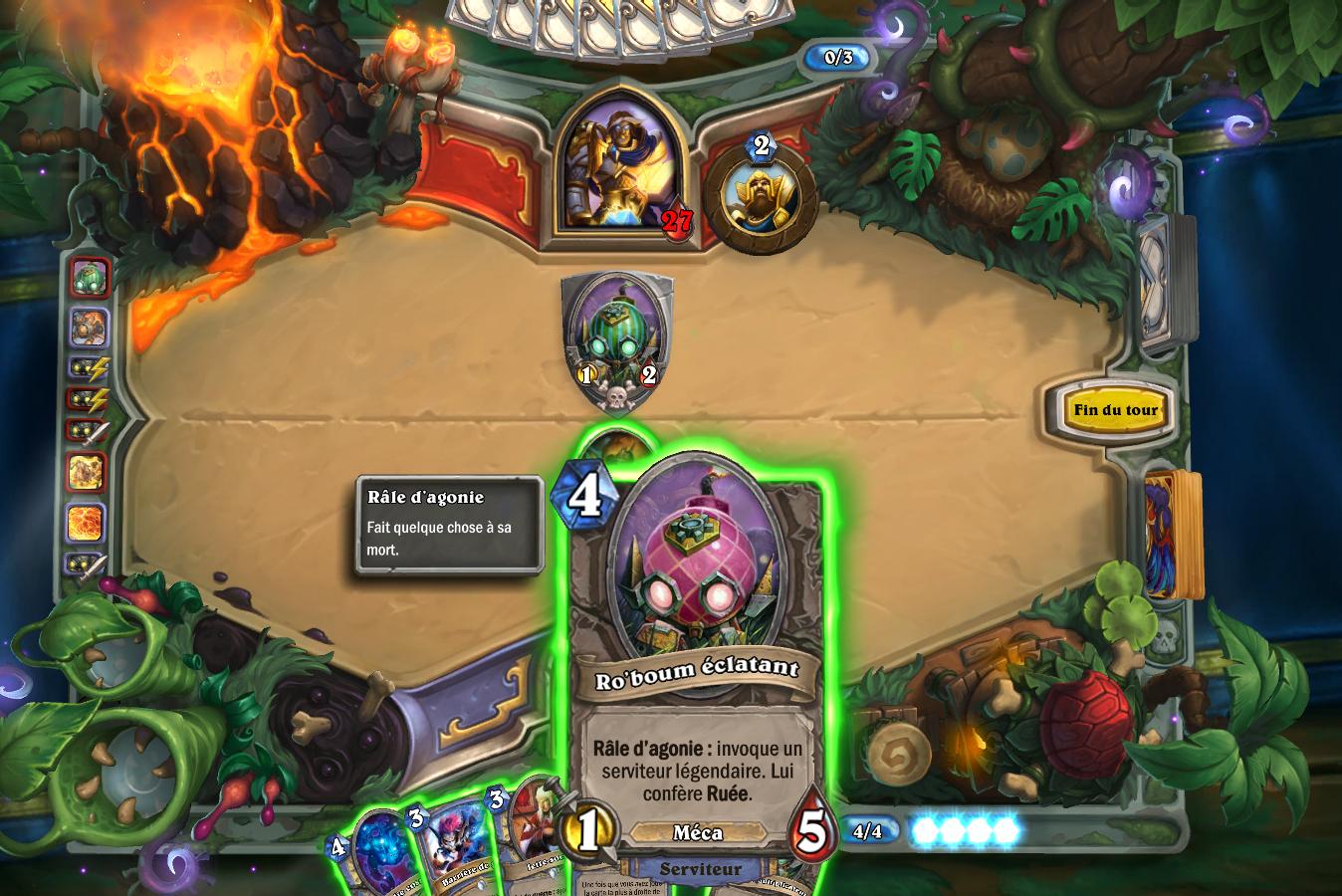 Dr Boum a glissé des cartes explosives dans votre deck et dans celui de votre adversaire
