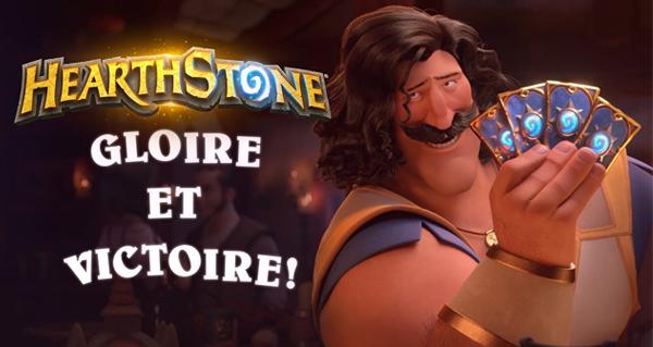 gloire et victoire : le nouveau court-metrage hearthstone est en ligne