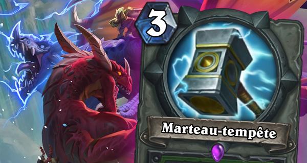 marteau-tempete : arme pour chasseur de l'envol des dragons