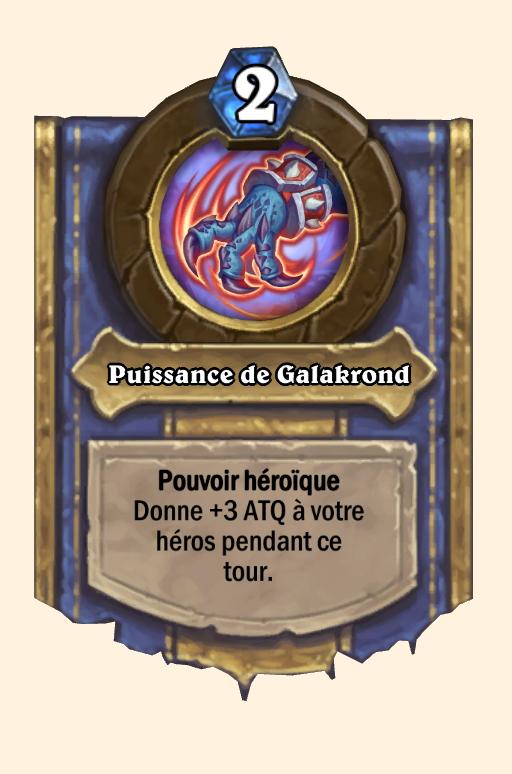 Pouvoir héroïque de Galakrond Hearthstone