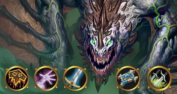 envol des dragons : galakrond low cost par classe