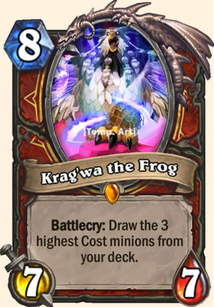 Krag'wa carte Hearthstone