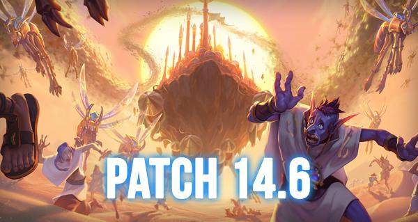 patch 14.6 : nouvelles cartes classiques, pantheon, bras de fer...