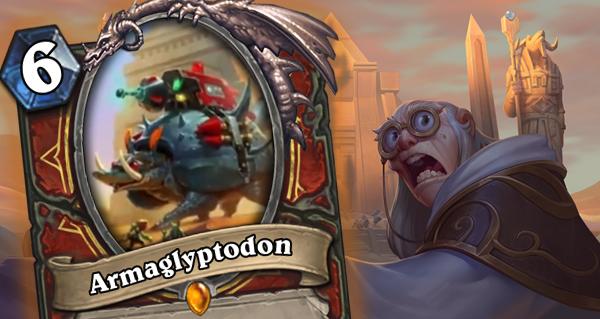 armaglyptodon : le nouveau serviteur legendaire pour guerrier d'uldum