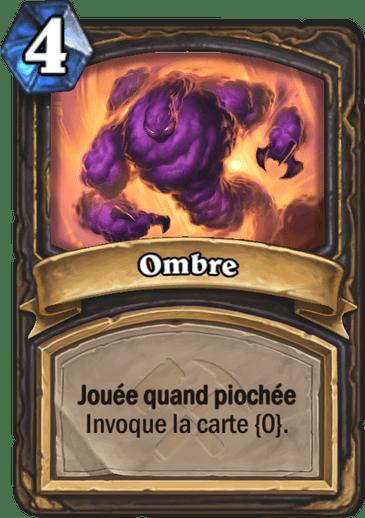 Ombre - Carte Hearthstone