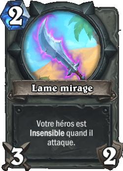 Lames mirage- Pouvoir héroïque Hearthstone