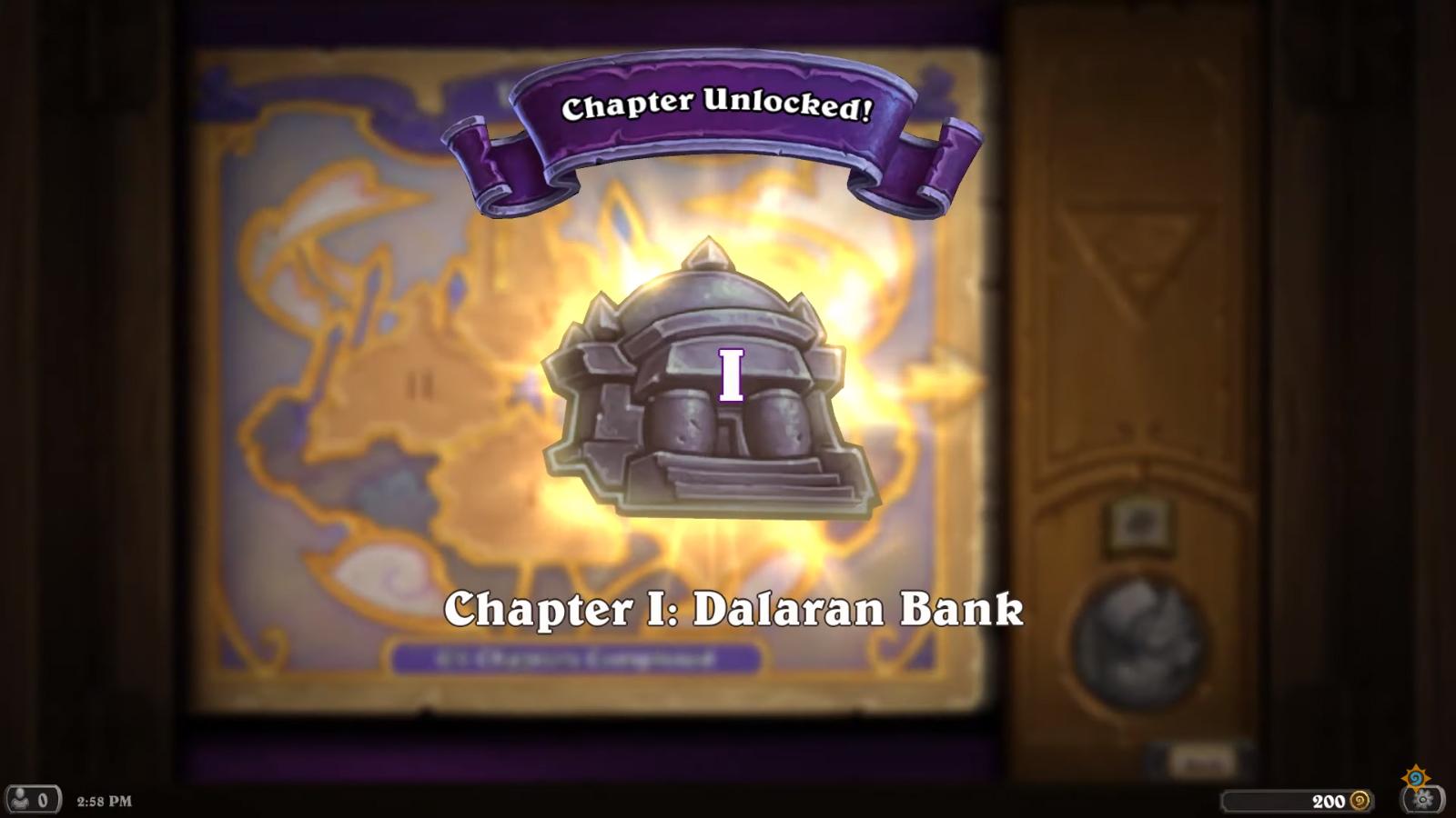 Le premier chapitre est offert à tous les joueurs : La banque de Dalaran