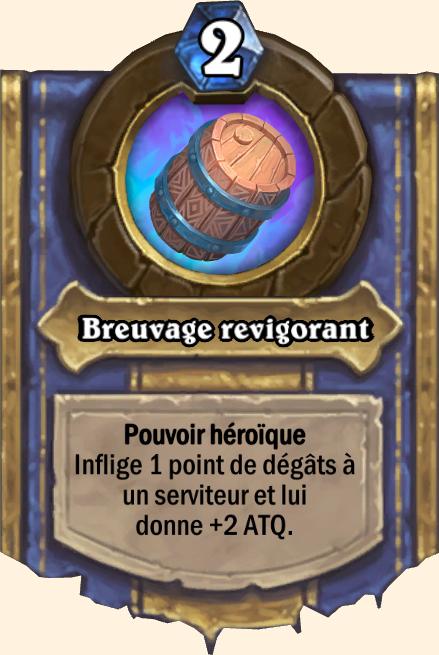 Pouvoir héroïque Breuvage revigorant