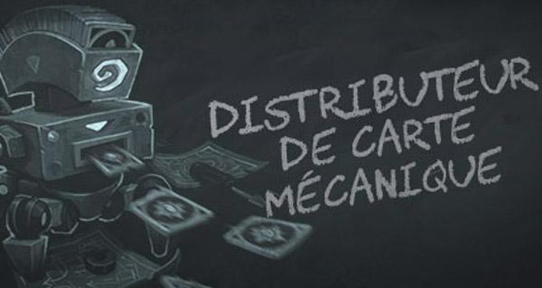 bras de fer : distributeur de carte mecanique (standard)