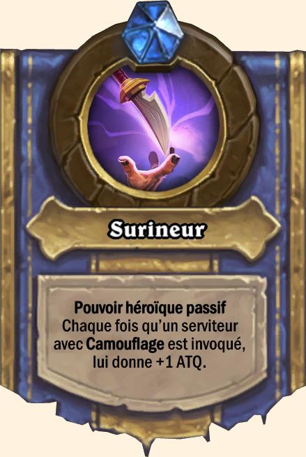 Pouvoir héroïque Surineur