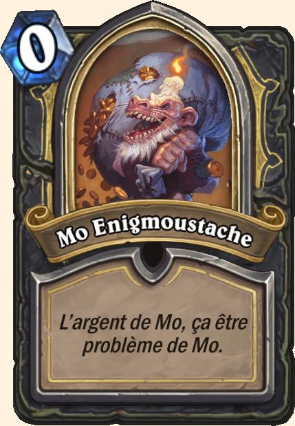 Boss Enigmoustache - Hearthstone Casse du siècle