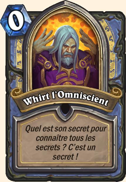 Boss Whirt - Hearthstone Casse du siècle