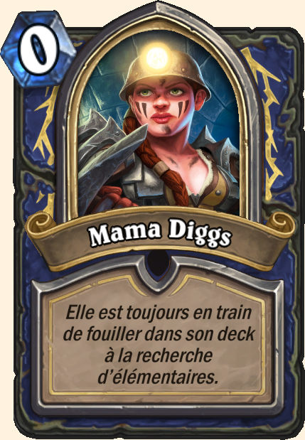 Boss Mama Diggs - Hearthstone Casse du siècle